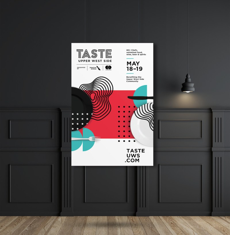 Graphic Design Trends - Light and Dark Color Schemes 6