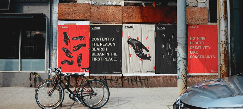 Graphic Design Trends - Strong Typographic Focal Points 4