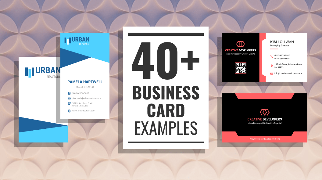 40 Of The Best Business Card Examples Venngage