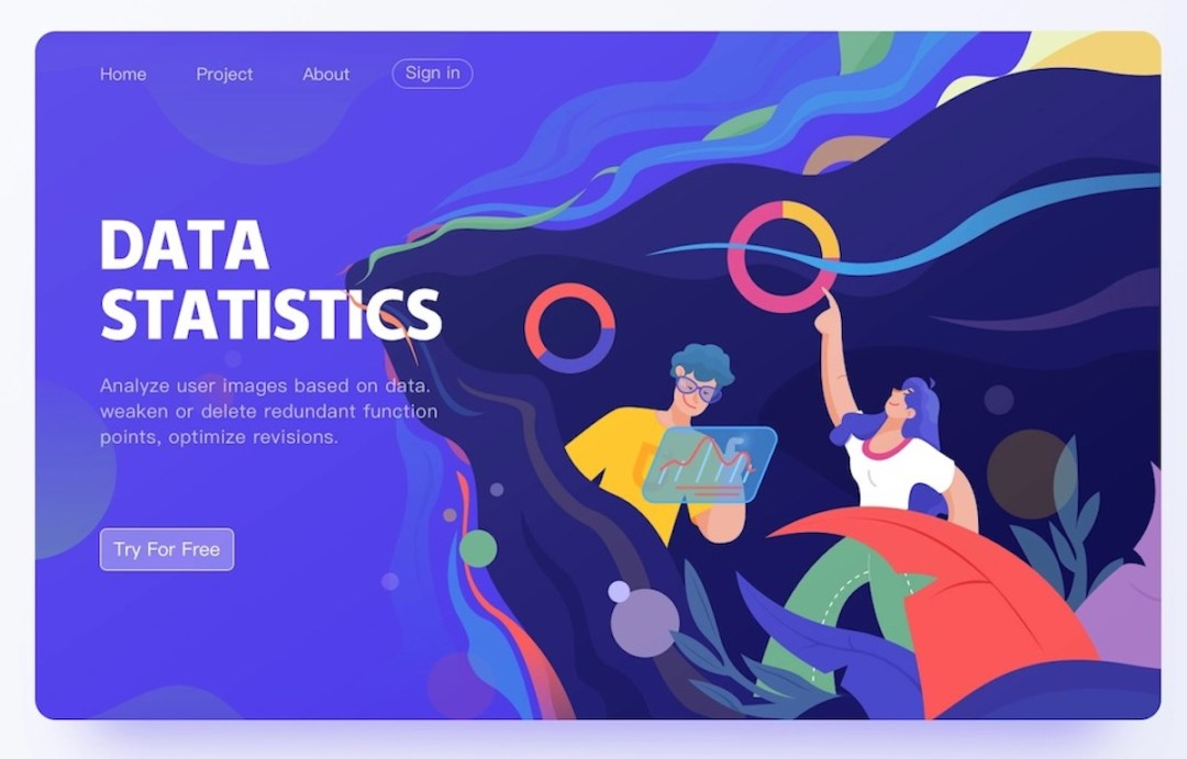 Graphic Design Trends 2021 Examples38