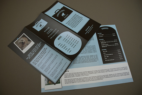 one page brochures