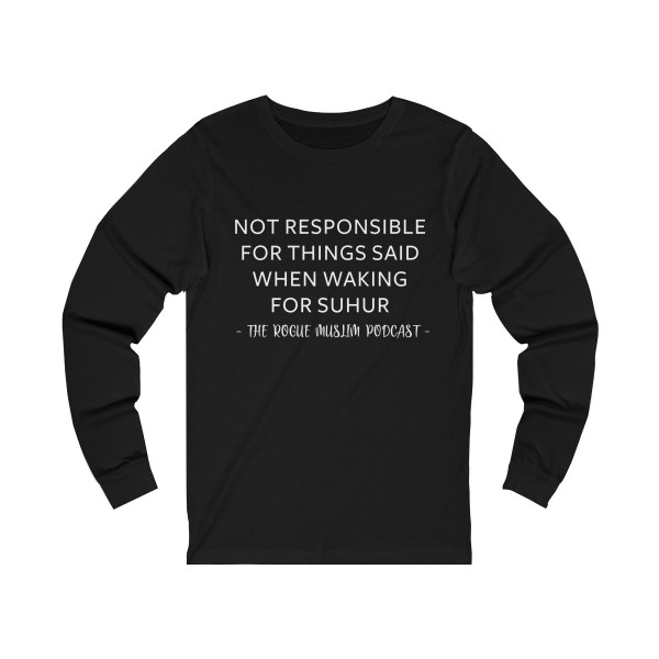 Waking for Suhur Unisex Jersey Long Sleeve Tee
