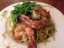 pasta prawn riccola