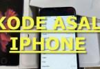 kode negara asal iphone