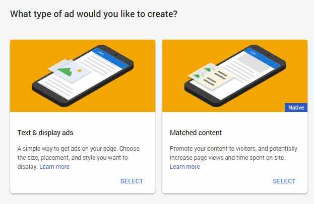Mengaktifkan Matched Content Adsense