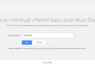 Cara Membuat 2 Channel Youtube dalam 1 Akun Google