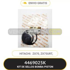 4469025K KIT DE SELLOS BOMBA HIDRAULICA ZX70, ZX75URT, HITACHI