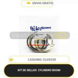 KIT DE SELLOS CYLINDRO BOOM CLG922D LIUGONG