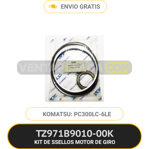 TZ971B901000K KIT DE SELLOS MOTOR DE GIRO PC300LC-6LE KOMATSU