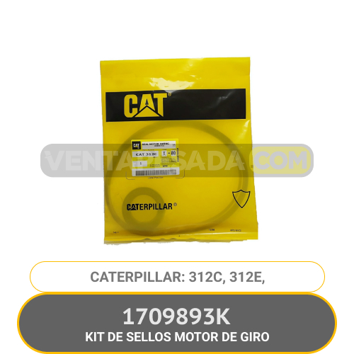 1709893 KIT DE SELLOS MOTOR DE GIRO 312C, 312E, CATERPILLAR