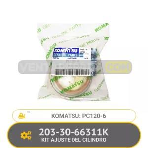 203-30-66311K KIT DE AJUSTE DEL CILINDRO PC120-6 KOMATSU
