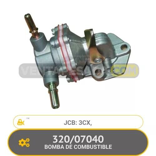 320/07040 BOMBA DE COMBUSTIBLE 3CX, JCB