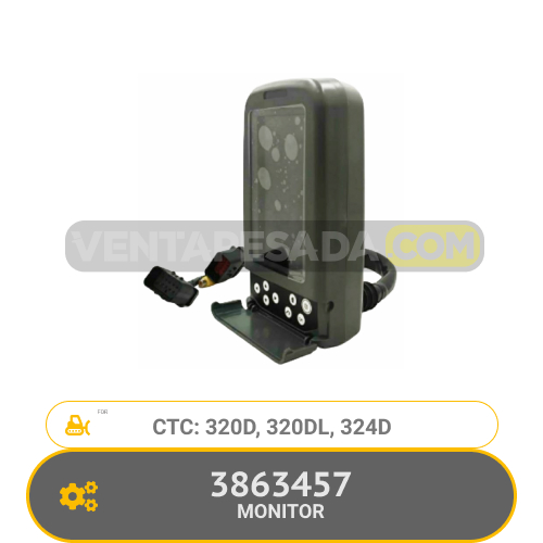 3863457 MONITOR 320D, 320DL, 324D, CTC