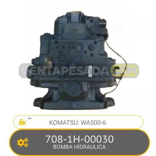 708-1H-00030 BOMBA HIDRAULICA WA500-6 KOMATSU