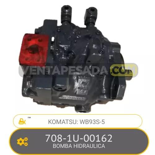 708-1U-00162 BOMBA HIDRAULICA WB93S-5 KOMATSU