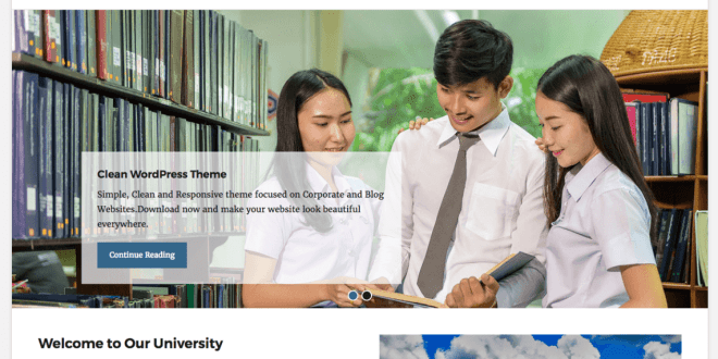 Free Wordpress Education Themes