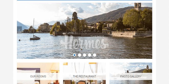 Free Hotel And Tourism WordPress Themes
