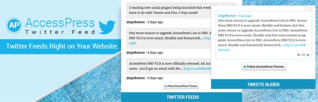 Twitter Feed for WordPress – AccessPress Twitter Feed