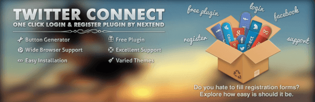 Nextend Twitter Connect