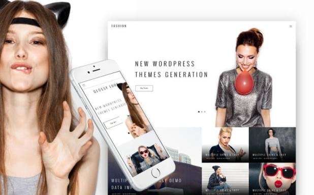 Glossy Look - Lifestyle & Fashion Blog WordPress Theme