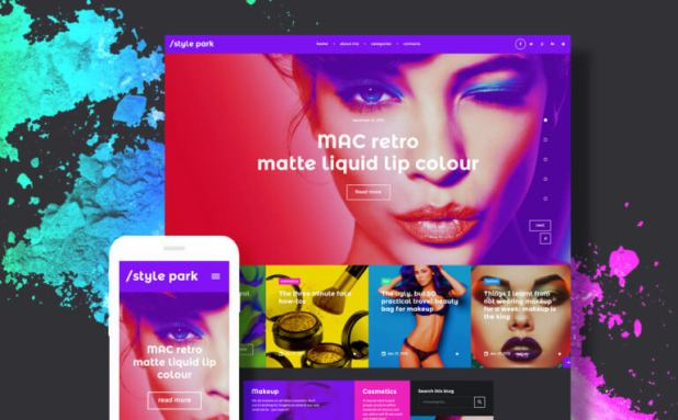 StylePark - Fashion Blog WordPress Theme