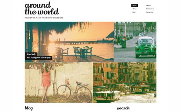 Travel Responsive WordPress Theme