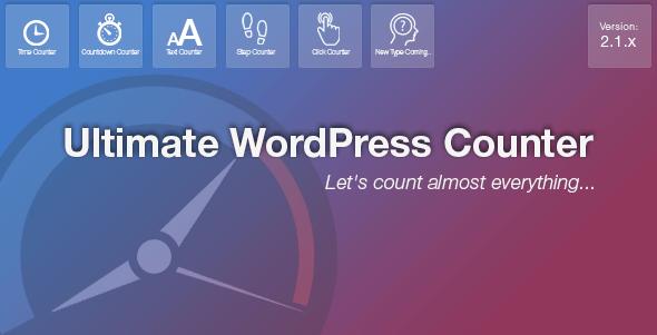 Ultimate WordPress Counter Plugin