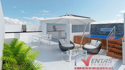 terraza departamento en venta pre venta oportunida san isidro