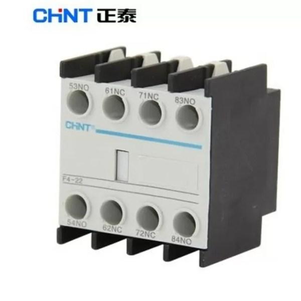 contacto auxiliar 2na 2nc de enganche central f4 22 D NQ NP 945814 MEC26204536413 102017 F 1 CHINT F4-22