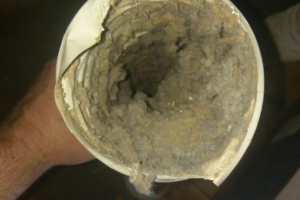 clogged vent