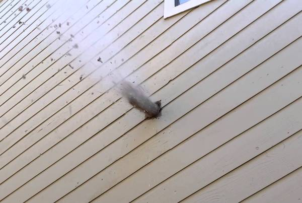 leaf blower dryer vent