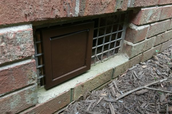 These vent caps are awesome.  Single louver recessed flap will not allow any critters to get in.  Doesn't become brittle or broken like the plastic caps.