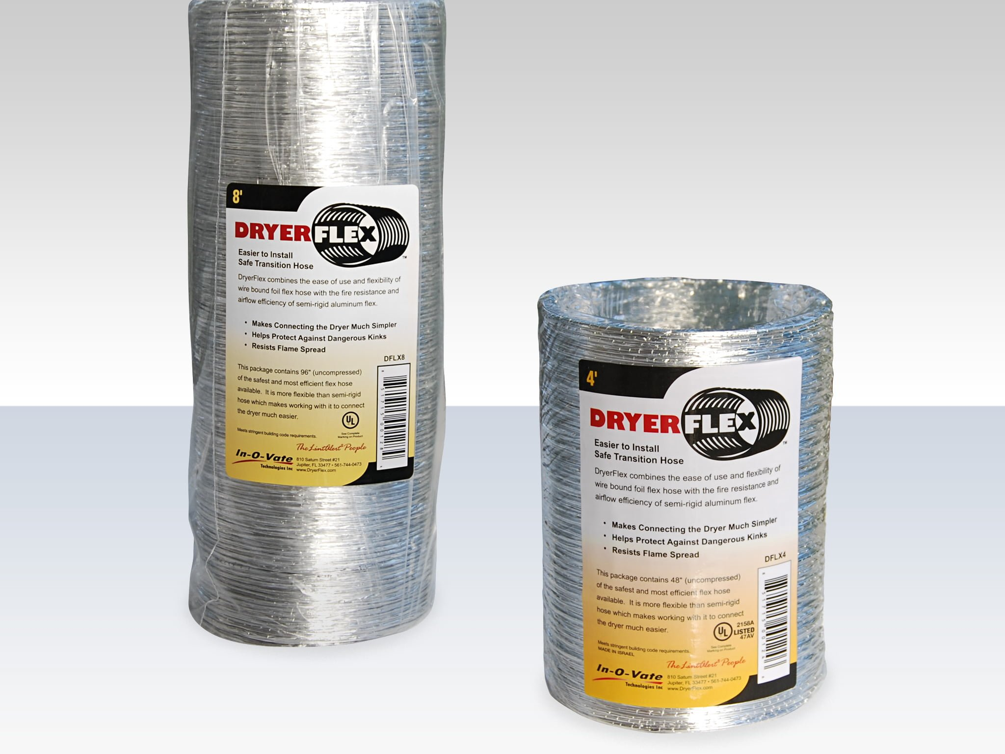 20 DryerFlex Four and Eight Foot Sections