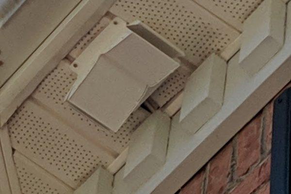 nopest soffit vent installation