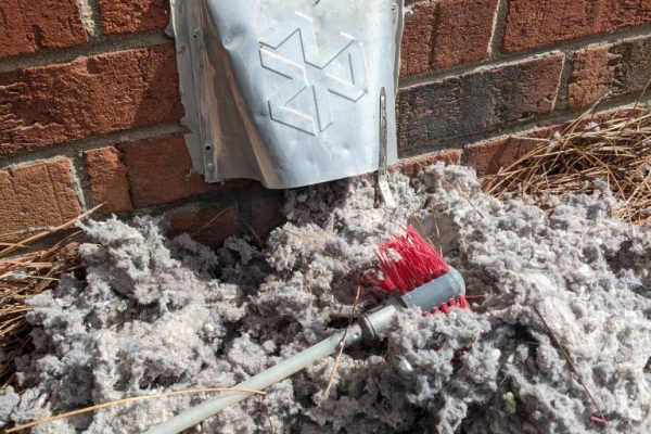 outside dryer vent cleaning