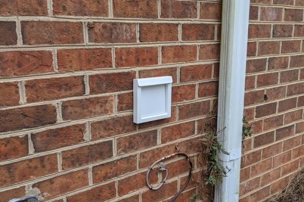 vent busters dryerwallvent white