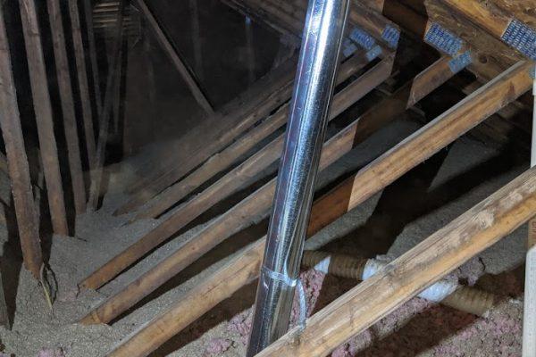 dryer vent greensboro attic installation