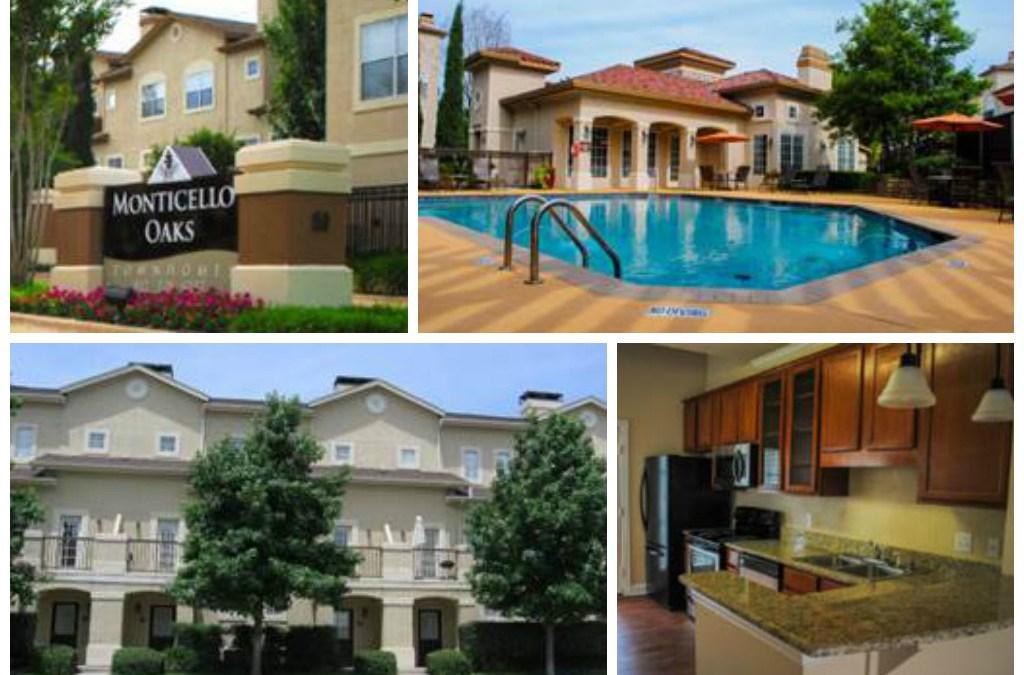 Venterra Acquires Monticello Oaks in Fort Worth, Texas!