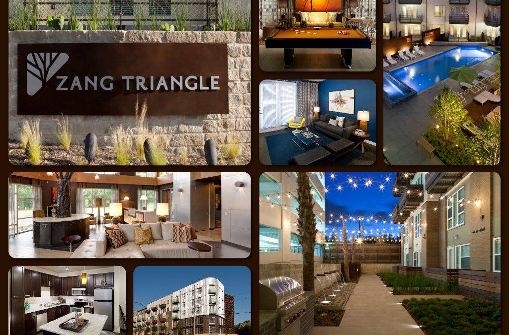 Venterra Acquires Zang Triangle Apartments in Dallas, Texas!