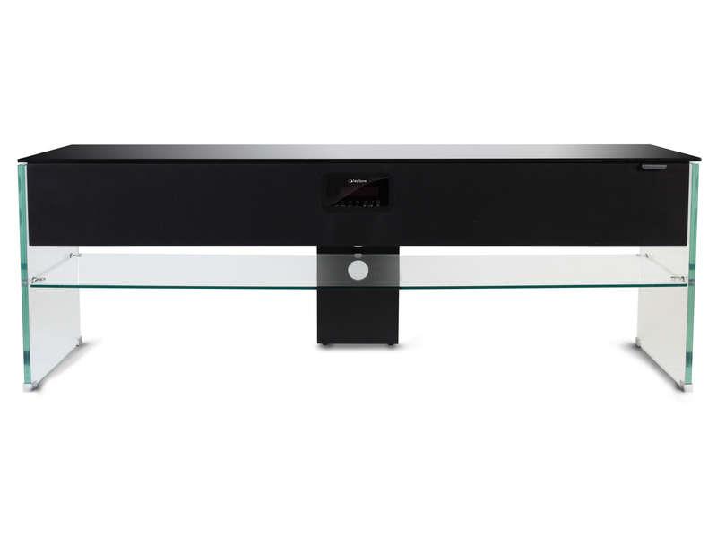 denizci dunya arkadas meuble tv avec enceinte integre conforama