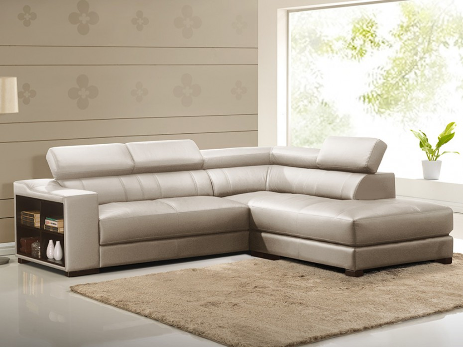 canape d angle cuir leeds beige canape