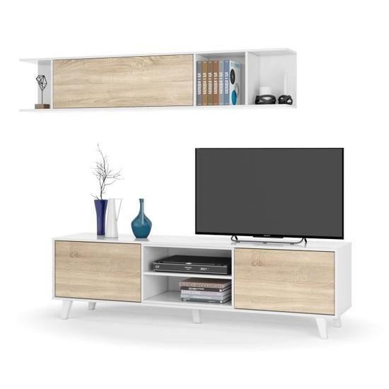 zaiken plus meuble tv scandinave pas
