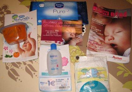 colis naissance gratuit panier bebe