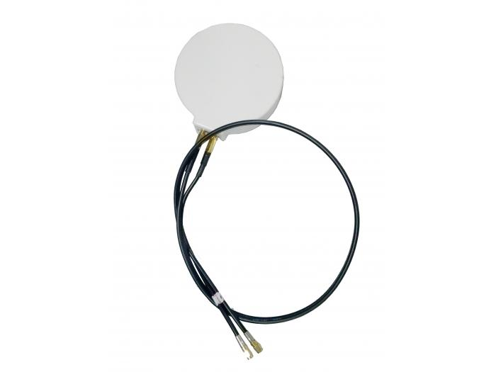 2.4/5GHz 6/7dBi Wi-Fi Omni Antenna with 2 RPSMA Connectors