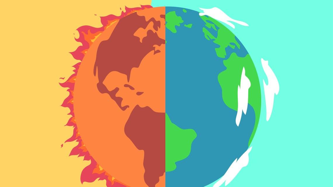 Come sarebbe la Terra con 3 gradi in più?