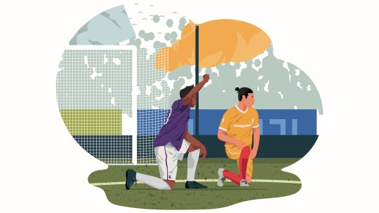 Perché agli Europei i calciatori si mettono in ginocchio?