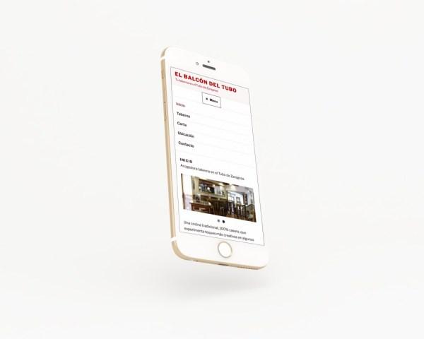 Web Balcón del Tubo para Enlazarte Comunicación