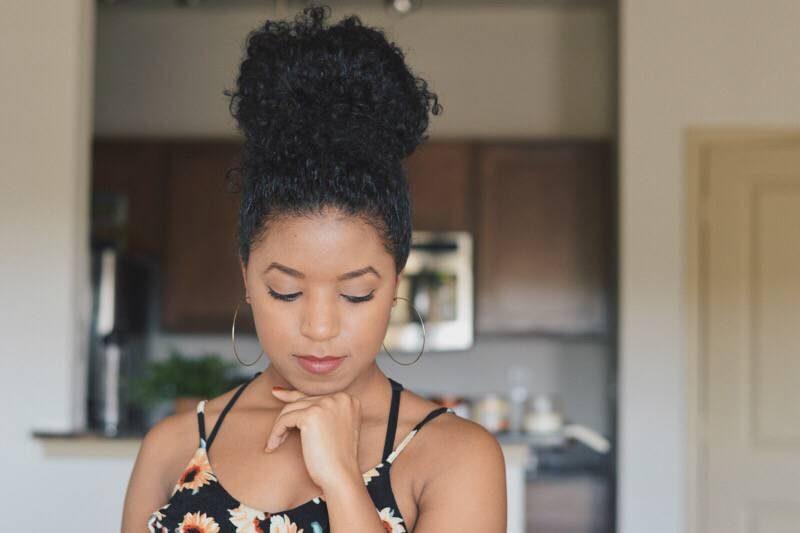 Natural Hair Messy Bun Venti Fashion