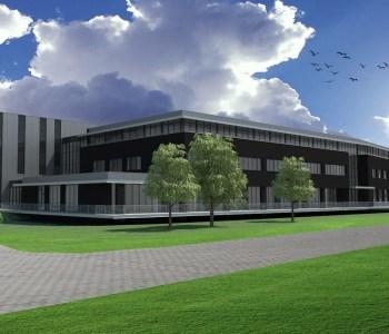 Bedrijfspand MS Schippers, nieuwbouw MS Schipperts Hapert | Ventilatie Techniek Brabant