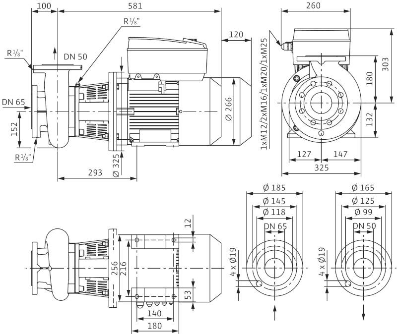 Wilo CronoBloc BL E 50/150-7,5/2-R1 buy in Kiev, Ukraine